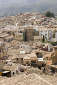 The town of Caravaca de la cruz — Stock Photo