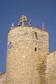 Zamek w caravaca de la cruz — Zdjęcie stockowe
