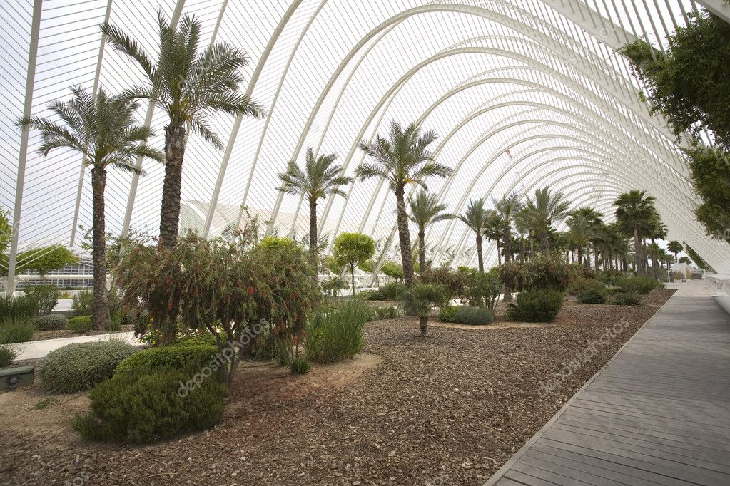 L Umbracle Garden in Valencia, Spain. — Stock Photo #3103545