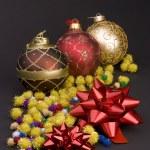 Christmas decoration balls — Stock Photo