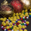 Various Christmas decorations — Stock Photo