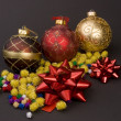 Stock Photo: Christmas decoration balls