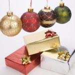 Christmas decoration balls — Stock Photo #3128949