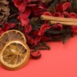Mandarin,Cloves & Cinnamon pot pourri — Stock Photo #3129852