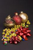 Noel dekorasyonu topları — Stok fotoğraf