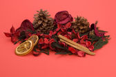 Mandarin,Cloves & Cinnamon pot pourri — Stock Photo