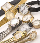 Multiple Wrist watches — Stock Photo
