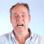 Man Enraged About Something — Stock Photo