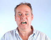 Man Enraged About Something — Stock Photo