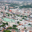 Stock Photo: Elevated View of Quebec City, Canada