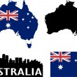 Australia - Stock Vector