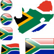 Republic of South Africa — Image vectorielle
