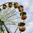 Ferris Wheel in the Evening - Stock Photo