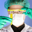 Chemist at work - Stock Photo