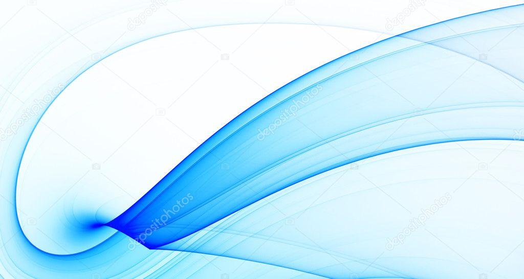 Blue abstract background, high quality design element — Foto de Stock   #3873835