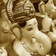 Stock Photo: Golden Ganesha