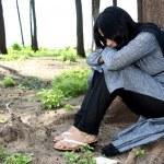 Heartbroken Indian Lady — Stock Photo #2965885
