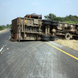 Overturned Truck — Stock Photo #2967594
