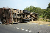 Truck Accident — Stock Photo