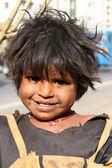 Smile in Poverty — Stock Photo