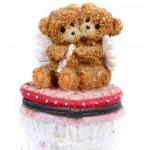 Romantic Teddy Box — Stock Photo #2992268