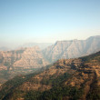 Sahyadri Mountains Background - Stock Photo