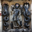 Ancient Lord Vishnu Idol - Stock Photo