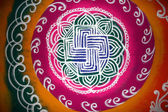Rangoli Art — Stock Photo