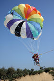 Parasail Landing — Stock Photo