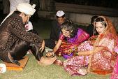 Indian Wedding Ceremony — Stock Photo