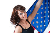 Pretty Patriotic — Stock Photo
