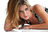 Sultry Woman — Stock Photo