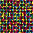 Royalty-Free Stock Vector Image: Seamless Colorful Dots Background.
