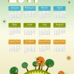 Calendar 2011 — Stock Vector #3164187