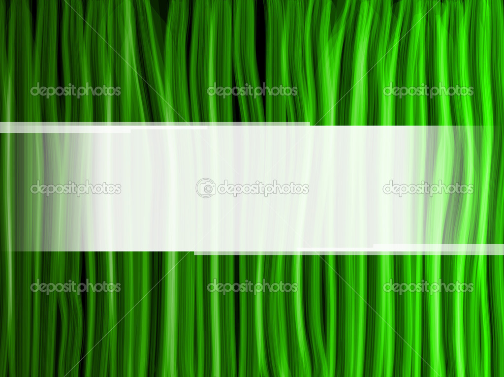 Vector - Abstract Green Lines Background — Stock Vector #3577202