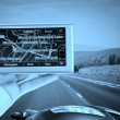 Royalty-Free Stock Photo: GPS Vehicle navigation
