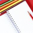 铅笔和议程 — 图库照片