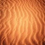 Beach with soft sand — Stock Photo