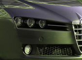 Close-up picture of a car. — Stock Photo