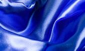 Niebieski koc — Zdjęcie stockowe