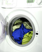 Clothes in laundry — Stock Photo