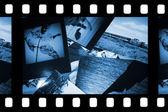 álbum de fotos com espaço de cópia — Foto Stock