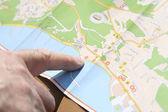 Harita — Stok fotoğraf