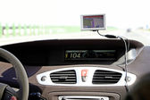 Bil styrelse — Stockfoto