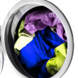 Stock Photo: Clothes in laundry