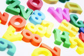 Close-up of letters. Great details ! — Stock Photo