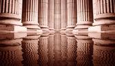 柱のクローズ アップ — ストック写真