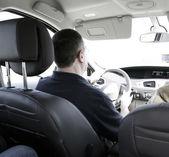 οδηγός αυτοκινήτου — Φωτογραφία Αρχείου