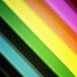 Pencils rainbow - Foto Stock