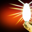 Royalty-Free Stock Photo: Light bulb